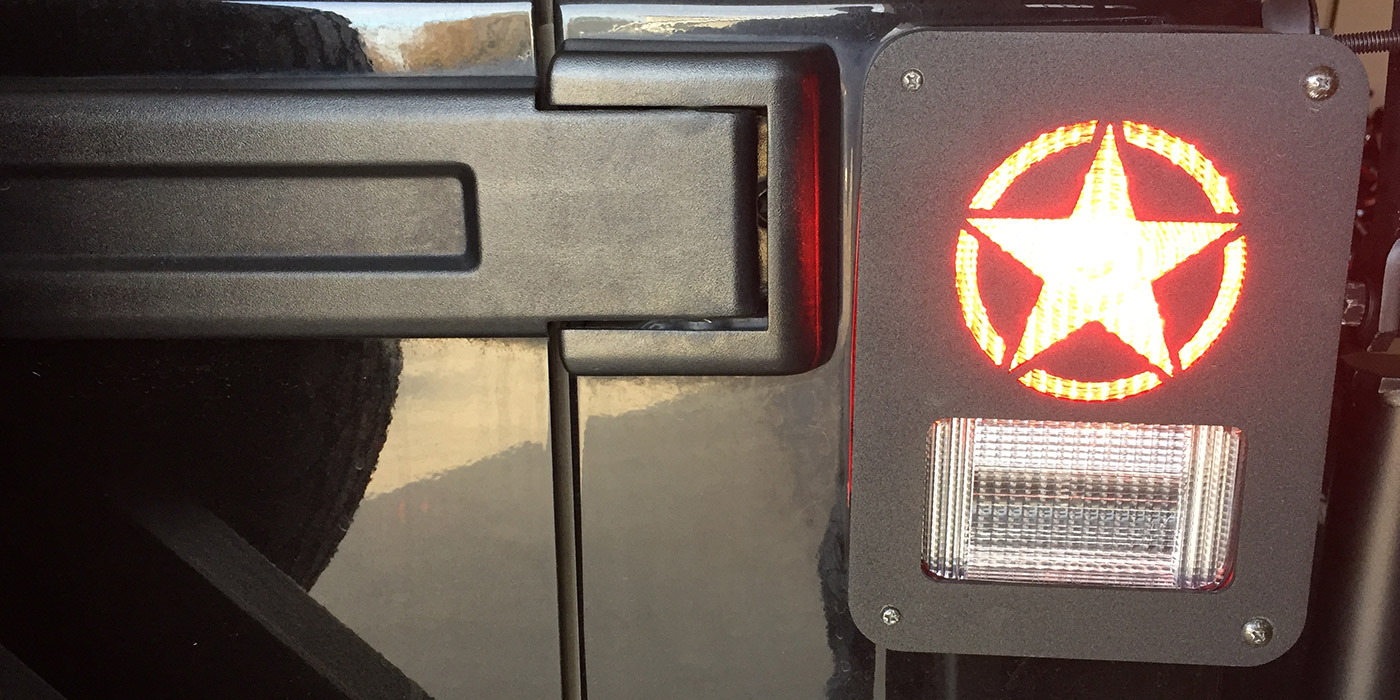 Dna Jeep Tail Light Covers Jeepmodreview Com