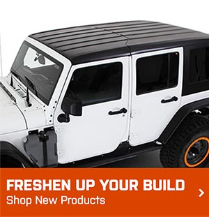 ExtremeTerrain Jeep Wrangler JK New Products